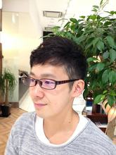 2ブロック風グラデーションショート|COM'S / i テラスモール湘南のメンズヘアスタイル