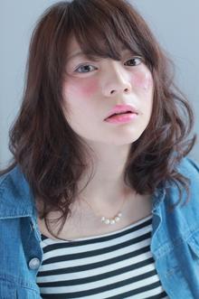 柔らか!ミディアムスタイル♪|COM'S 藤沢のヘアスタイル