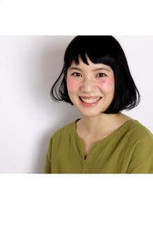 オン眉!シンプルボブ♪|COM'S 藤沢のヘアスタイル