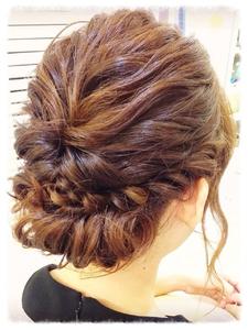 結婚式お呼ばれヘアー K-styleのヘアスタイル
