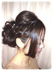 エレガントパーティヘア K-styleのヘアスタイル
