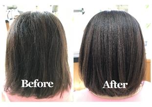 美髪形成オペレーション『エアーストレート』|J-walkのヘアスタイル