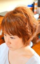 癖毛を生かしたふんわりショート|le mignon seulのヘアスタイル