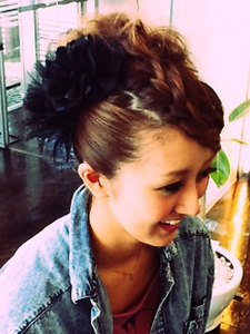 華やかヘアアレンジ|RE・BORN hair&relaxのヘアスタイル
