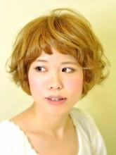 ふわふわショートボブ|HAIR SALON Beeline 藤田 絵美のヘアスタイル