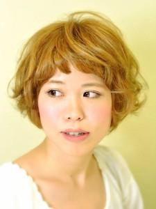 ふわふわショートボブ|HAIR SALON Beelineのヘアスタイル