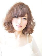 ふわふわボブ|HAIR SALON Beeline 山崎 智美のヘアスタイル