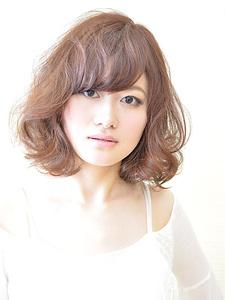 ふわふわボブ|HAIR SALON Beelineのヘアスタイル