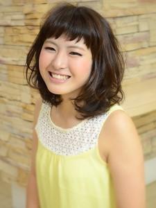ふんわり軽めカール☆|HAIR SALON Beelineのヘアスタイル