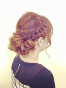 スウィートフェミニンアレンジ|HAIR SALON Beelineのヘアスタイル