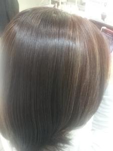 ラベンダーぷらすホイルワーク|美容室 アシックのヘアスタイル