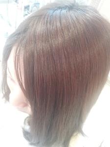前髪エクステ|美容室 アシックのヘアスタイル