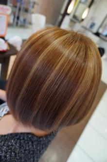 夏カラー|美容室 アシックのヘアスタイル
