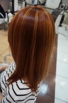 夏カラーその2|美容室 アシックのヘアスタイル