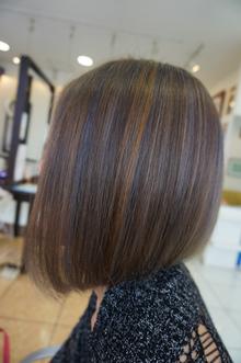 夏カラー☆ロイヤルアッシュbyホイルワーク|美容室 アシックのヘアスタイル