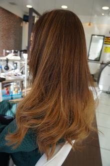 激可愛グラデーションカラー|美容室 アシックのヘアスタイル