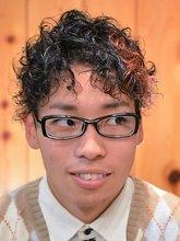 大人カジュアルショートウェーブ|Hair's和 -なごみ- 下川 真一のメンズヘアスタイル