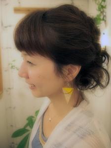 ユルめあみこみアレンジ|kanattのヘアスタイル