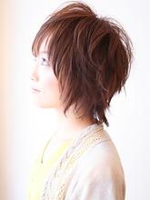 クシュクシュレイヤーボブ|kanattのヘアスタイル