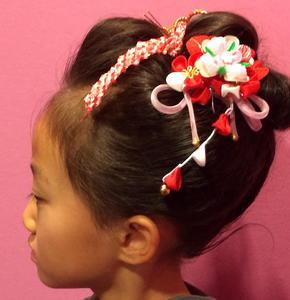 七五三 Hair make AZURのヘアスタイル