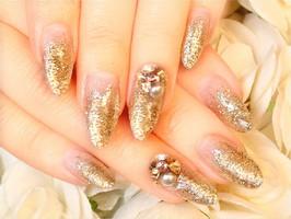 ラメグラ☆|Beauty Labo 岡本店(ネイル&アイラッシュ)のネイル
