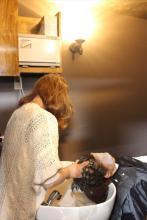 リゾートヘッドスパ 「完全個室シャンプー台」