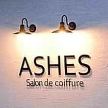 ASHES salon de coiffure  | アシェス サロン ド コワフュール  のロゴ