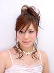後れ毛が妖艶な夜会スタイル |ASHES salon de coiffureのヘアスタイル