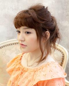セットスタイル【披露宴・結婚式の二次会・アレンジスタイル】|OnGGのヘアスタイル