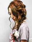 編みこみ OnGGのヘアスタイル