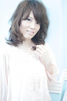 【OnGG】梨花風大人ミディパーマ|OnGGのヘアスタイル