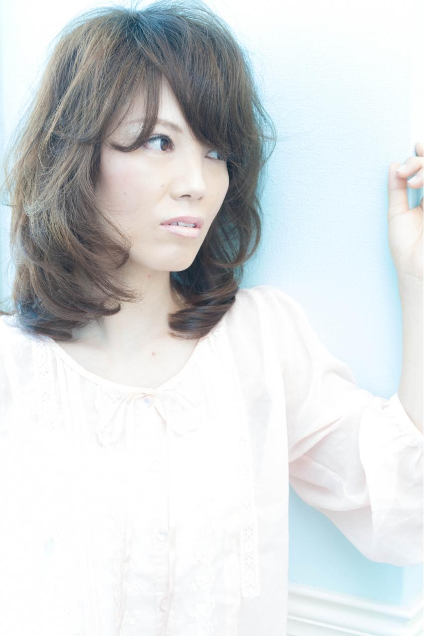 【OnGG】梨花風大人ミディパーマ