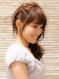 アレンジヘアスタイル【ヘアセット】