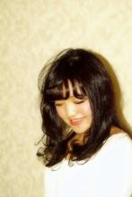 ふわふわカールと自然な黒髪♪|e-style 豊田大林店のヘアスタイル