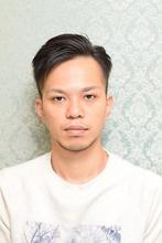 大人の七三ヘア|HAIR RESORT VIENTOのヘアスタイル