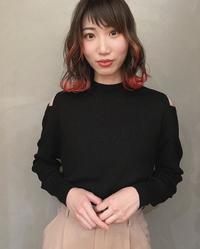裾カラー×ブラッドオレンジ☆