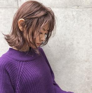 春カラーブロッサムピンク☆ Atoroのヘアスタイル