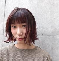 ボブ×ピンクグラデーション☆