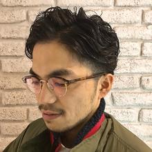 オシャレなビジカジ7:3パーマスタイル☆|Atoroのヘアスタイル