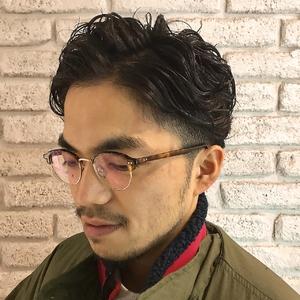 オシャレなビジカジ7:3パーマスタイル☆ Atoroのヘアスタイル