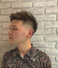 外国人風刈り上げスタイル☆|Atoroのヘアスタイル