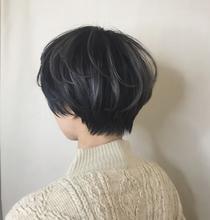 立体感のある3Dハイライトカラー×グレー☆|Atoro 野田 能宏のヘアスタイル