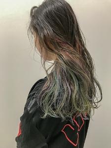 インナーユニコーンカラー☆|Atoroのヘアスタイル
