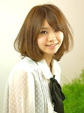 ミディアムボブ|seul hair 中村 伸也のヘアスタイル