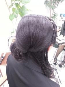 ハーフアップ|seul hairのヘアスタイル