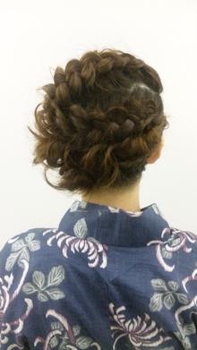 浴衣セット|seul hairのヘアスタイル