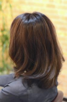 暗めカラーアメジストブラウン|SQUASHのヘアスタイル