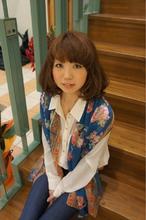 ふわゆるマッシュボブ|e-style 豊川店のヘアスタイル
