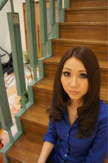 クールロング|e-style 豊川店のヘアスタイル