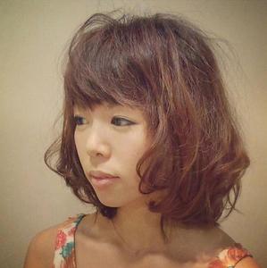 ナチュふわミディ|LUCIDO STYLE WINSのヘアスタイル